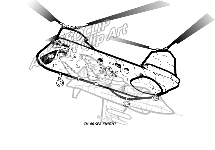 aeroclip rotary wing LEGO UH -1 ch 46 sea knight 2 helicopter